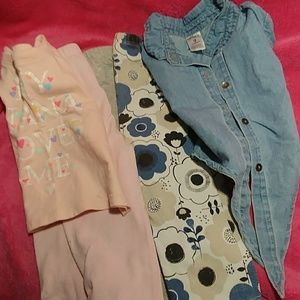 Other - Two short sleeve tops and two bottoms.